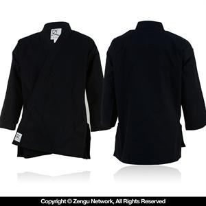 Heavyweight Black Karate Jacket